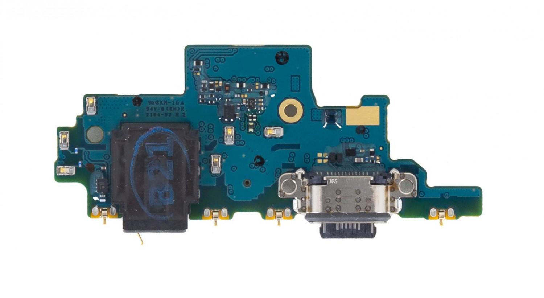 Samsung A725 Galaxy A72 Deska vč. Dobíjecího Konektoru (Service Pack)