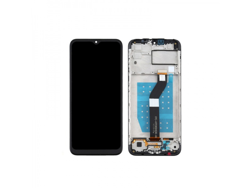 LCD + dotyk + rámeček pro Motorola Moto G8 Power, black ( Service Pack )