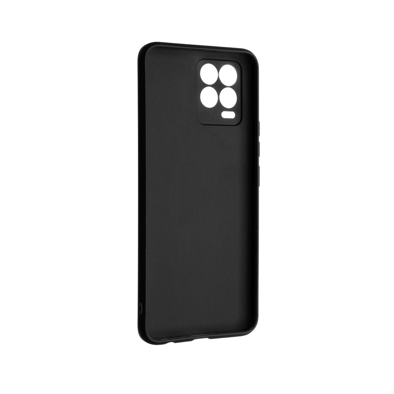 Zadní pogumovaný kryt FIXED Story pro Realme 8/Realme 8 Pro, černá