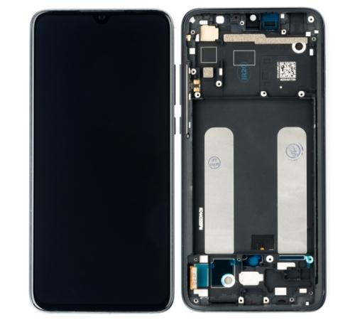 LCD + dotyk + přední kryt pro Xiaomi Mi9 Lite, black