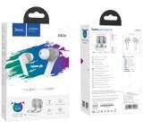 HF, sluchátka Bluetooth HOCO ES34 Pleasure, TWS, stereo, nabíjecí pouzdro, bílá