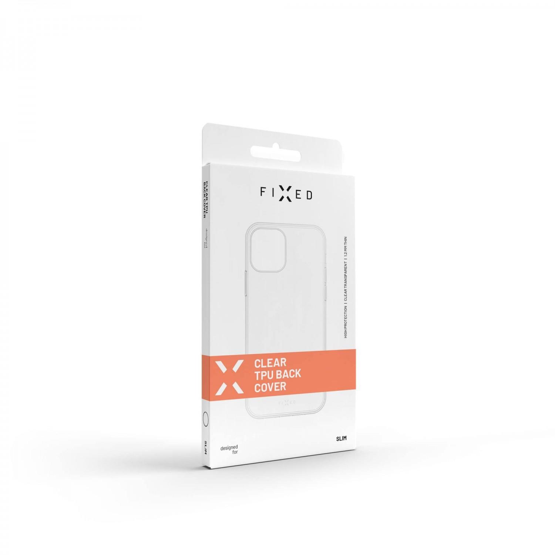 TPU gelové pouzdro FIXED pro ASUS Zenfone 8 Flip, čirá