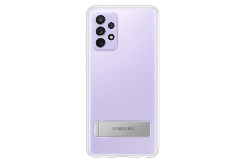 Ochranný kryt Clear Standing Cover pro Samsung Galaxy A72, transparentní