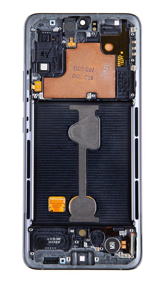 LCD + dotyková deska pro Samsung Galaxy A90, black ( Service Pack )