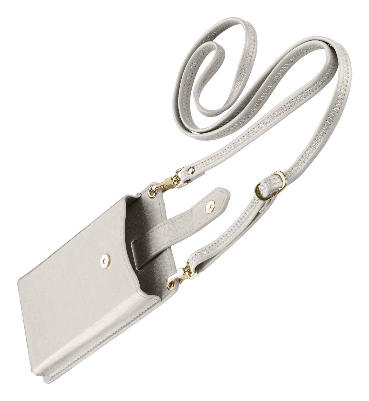 Pouzdro na krk Cellularline Mini Bag pro mobilní telefony, bílá
