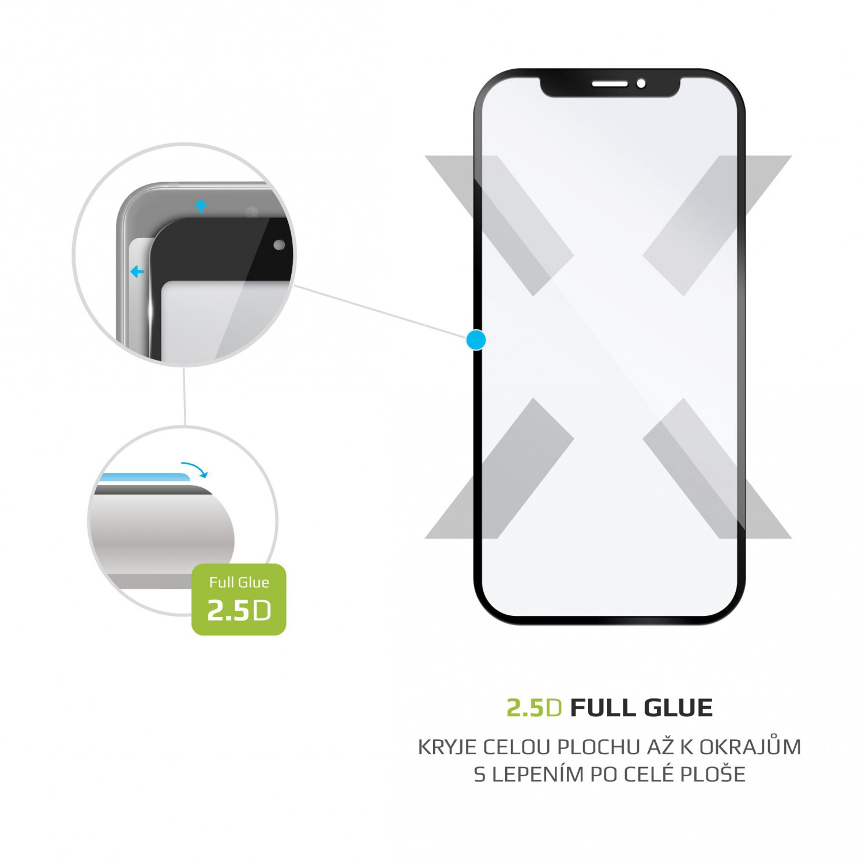 Ochranné tvrzené sklo FIXED Full-Cover pro Xiaomi Redmi Note 8 (2021), černá
