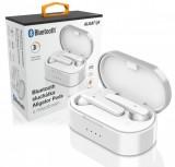 Bluetooth sluchátka ALIGATOR PODS, bílá