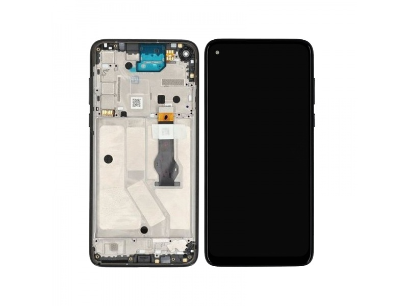 LCD + dotyk + rámeček pro Motorola Moto G8 Power, mystic indigo ( Service Pack )