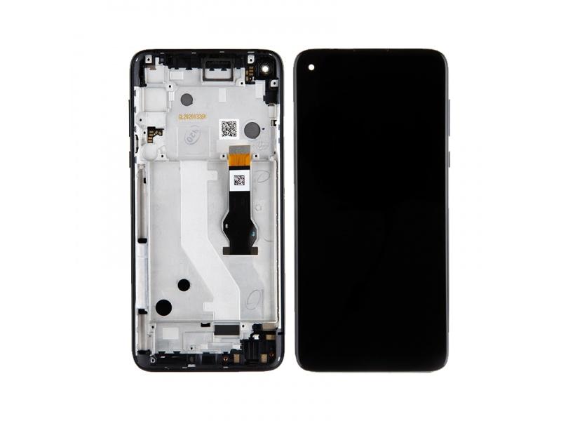 LCD + dotyk + rámeček pro Motorola Moto G Pro, mystic indigo ( Service Pack )