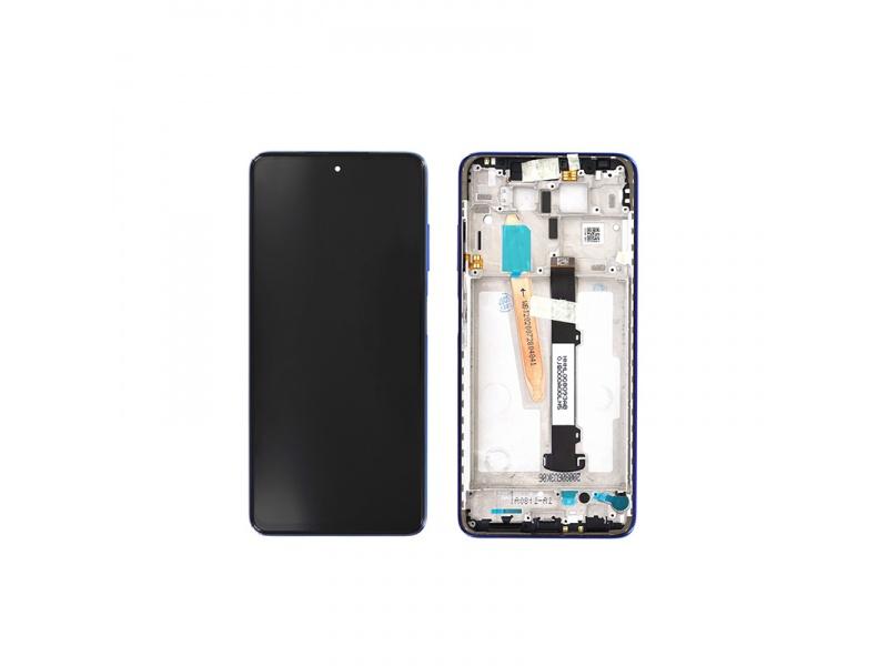 LCD + dotyk + rámeček pro Xiaomi Poco X3, cobalt blue ( Service Pack )
