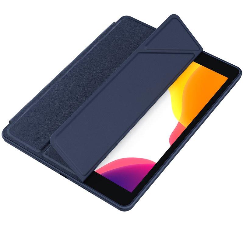 Flipové pouzdro Nillkin Bevel Leather Case pro iPad Air 10.9 2020/Air 4, půlnoční modrá