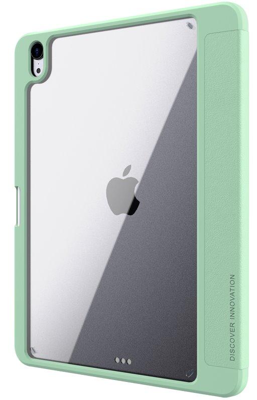 Flipové pouzdro Nillkin Bevel Leather Case pro iPad 10.2 2019/2020 8, matcha green