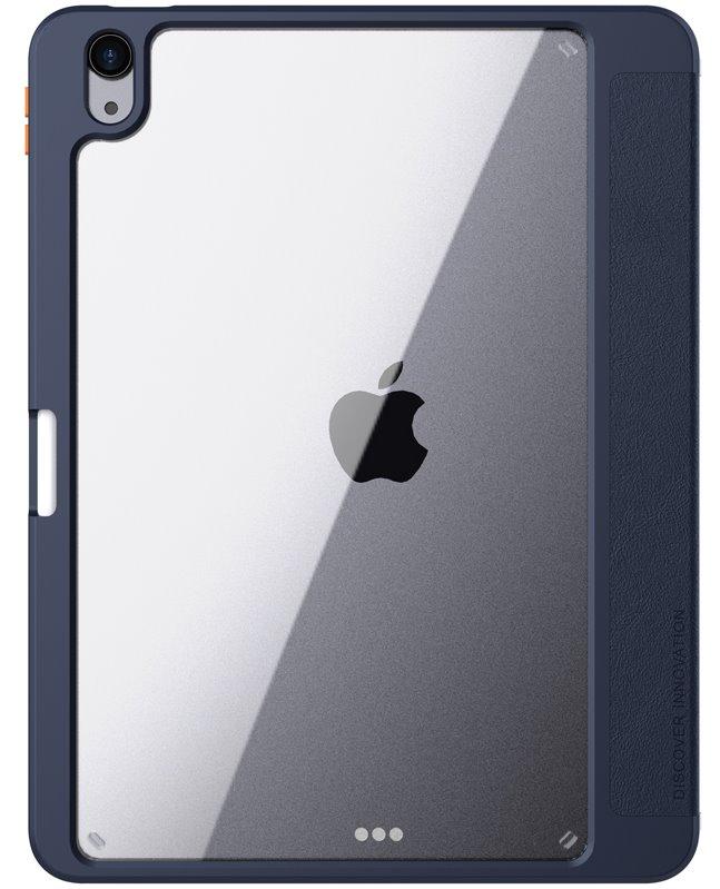 Flipové pouzdro Nillkin Bevel Leather Case pro iPad 10.2 2019/2020 8.generace, půlnoční modrá