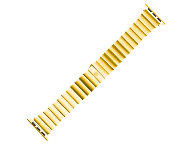 Kovový řemínek COTEetCI Stainless Steel Band pro Apple Watch 42/44mm, zlatá