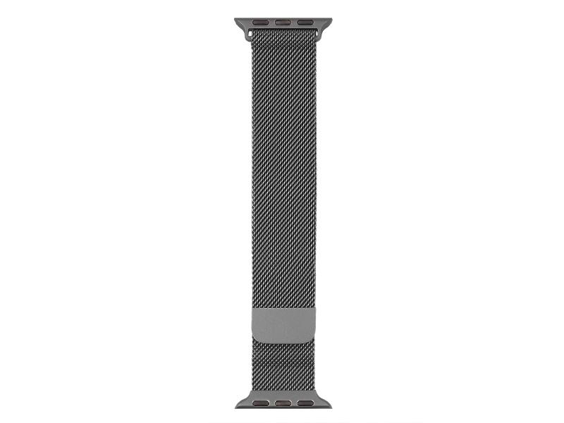 Kovový řemínek COTEetCI Stainless Steel Magnet Band pro Apple Watch 38/40mm, šedá
