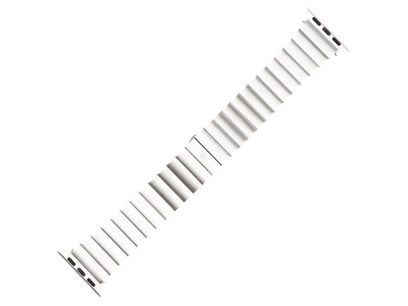 Řemínek COTEetCI Stainless Steel Band for Apple Watch 42/44mm, stříbrná