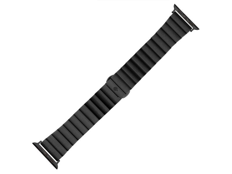 Řemínek COTEetCI Stainless Steel Band pro Apple Watch 42/44mm, černá