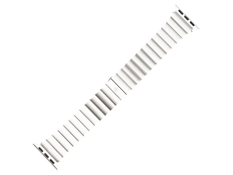 Řemínek COTEetCI Stainless Steel Band pro Apple Watch 38/40mm, stříbrná
