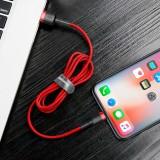 Datový kabel Baseus Cafule Cable USB pro Lightning 1.5A 2M, červená