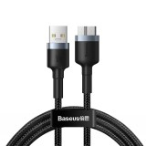 Datový kabel Baseus Cafule Cable USB3.0 Male to Micro-B 2A 1M, tmavě šedá
