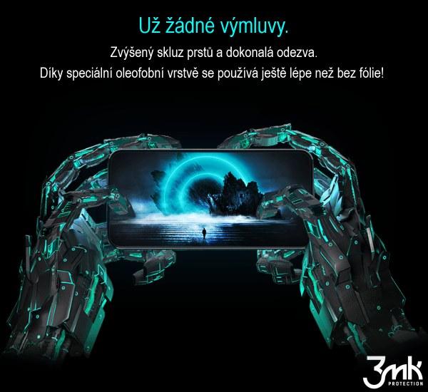 Ochranná fólie 3mk 1UP pro Samsung Galaxy S21 (3ks)