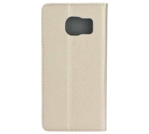 Flipové pouzdro Smart Magnet pro Samsung Galaxy A22, zlatá