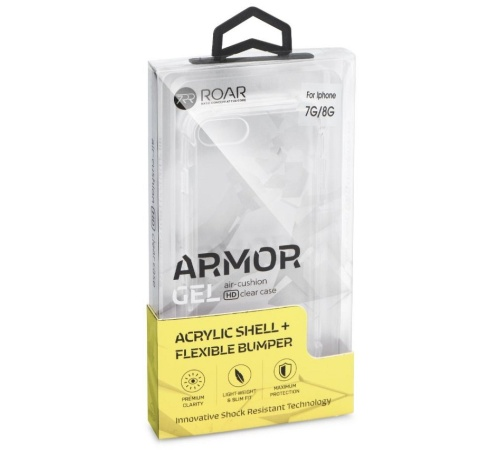 Kryt ochranný Roar Armor Gel pro Samsung Galaxy A22, transparent