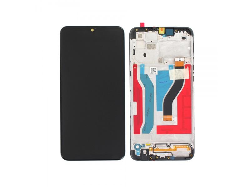 LCD + dotyk + rámeček pro Samsung Galaxy A10s 2019, black ( Service Pack )