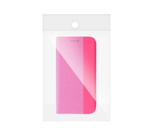 Flipové pouzdro SENSITIVE pro Samsung Galaxy A22, růžová