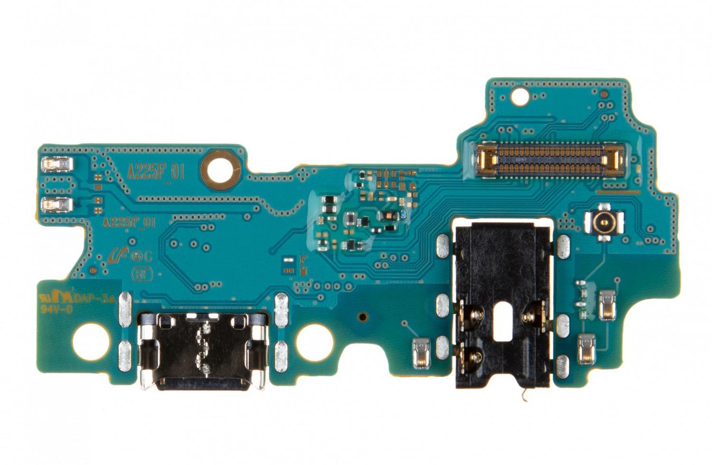 Samsung A225F Galaxy A22 Nabíjecí Konektor + Mikrofon (Service Pack)