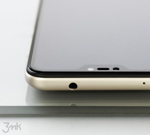 Tvrzené sklo 3mk HardGlass Max Lite pro Vivo Y52 5G, černá