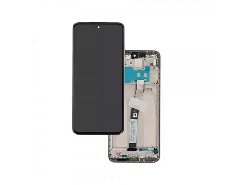 LCD + dotyk + rámeček pro Xiaomi Redmi Note 9 Pro, blue ( Service Pack )