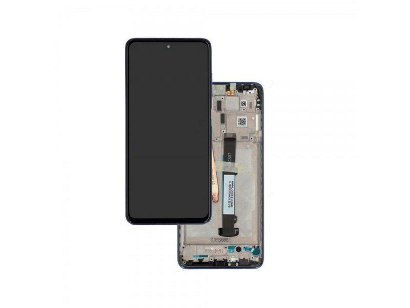 LCD + dotyk + rámeček pro Xiaomi Poco M3, cool blue ( Service Pack )