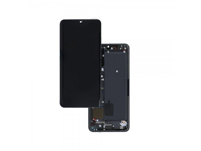 LCD + dotyk + rámeček pro Xiaomi Mi Note 10 / 10 Pro, tarnish ( Service Pack )