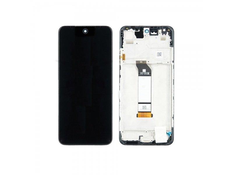 LCD + dotyk + rámeček pro Xiaomi Poco M3 Pro, tarnish ( Service Pack )