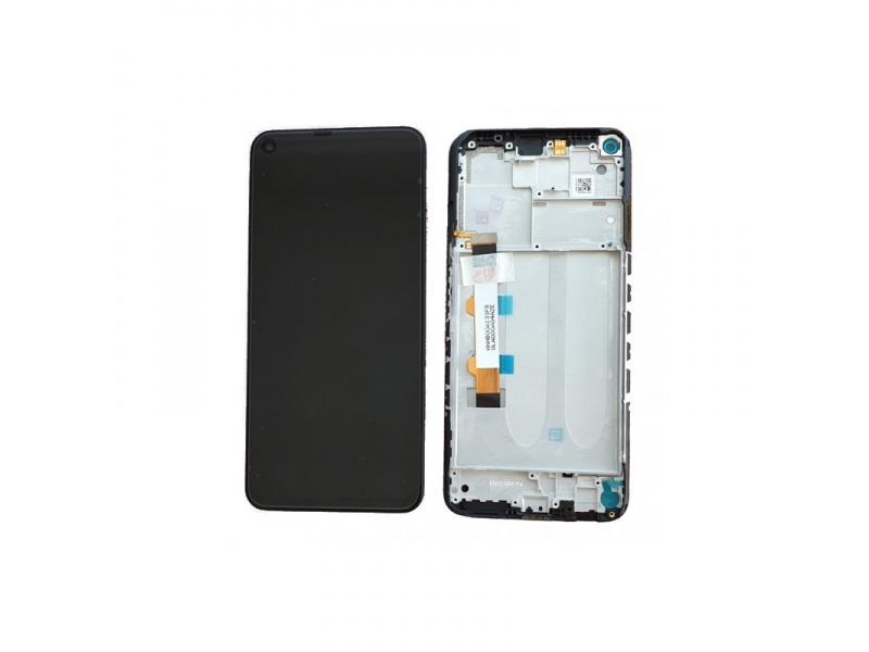 LCD + dotyk + rámeček pro Xiaomi Redmi Note 9T, nightfall black ( Service Pack )