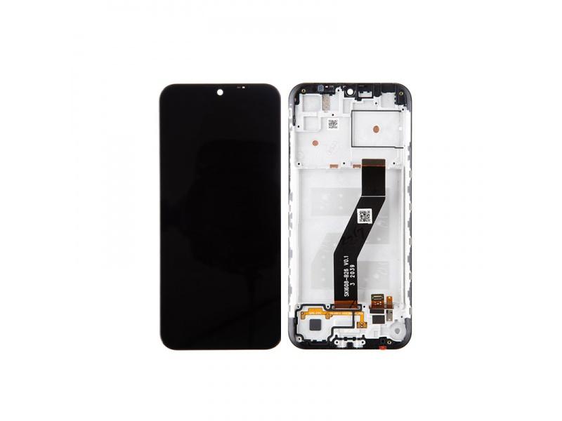 LCD + dotyk + rámeček pro Motorola Moto E6i, black ( Service Pack )