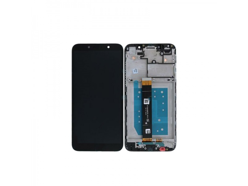 LCD + dotyk + rámeček pro Motorola Moto E6 Play, black ( Service Pack )