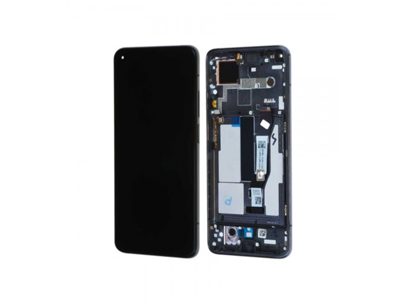 LCD + dotyk + rámeček pro Xiaomi Mi 10T / Mi 10T Pro, black ( Service Pack )