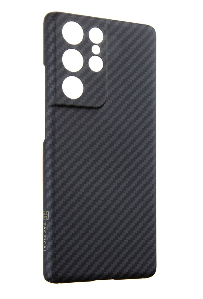 Zadní kryt Tactical MagForce Aramid pro Samsung Galaxy S21+, černá