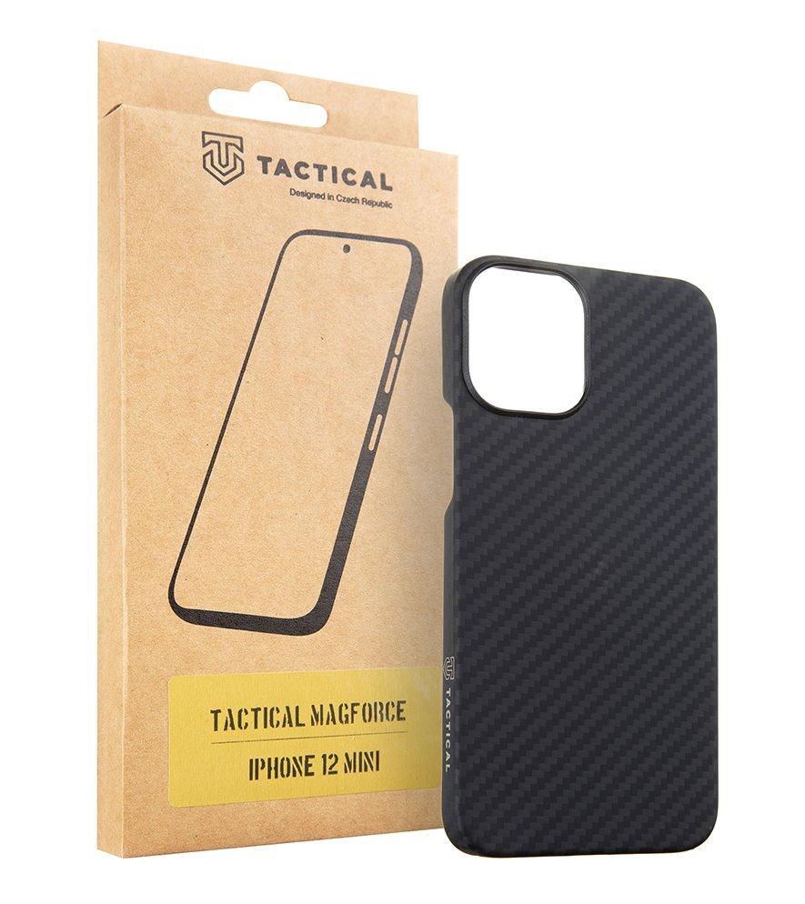 Zadní kryt Tactical MagForce Aramid pro Apple iPhone 12 Mini, černá