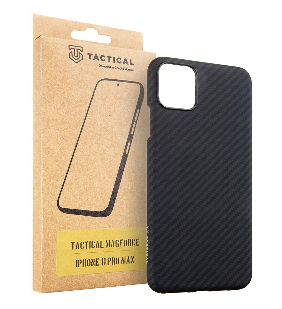 Zadní kryt Tactical MagForce Aramid pro Apple iPhone 11 Pro Max, černá