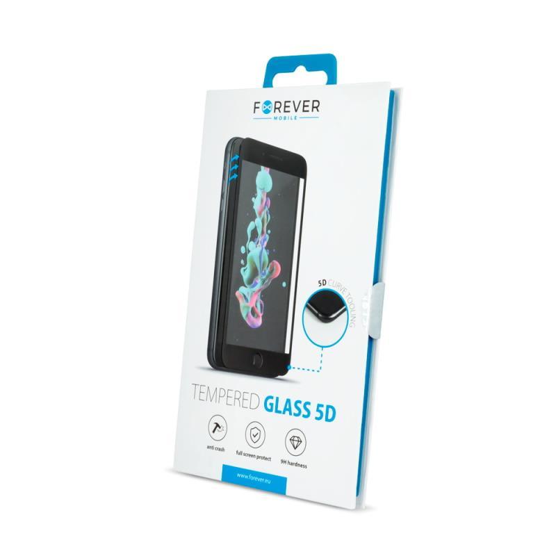 Tvrzené sklo Forever 5D pro Samsung Galaxy S20, černá