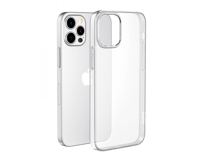 Silikonové pouzdro Hoco Light Series TPU Case pro Apple iPhone 12 Pro Max, transparentní