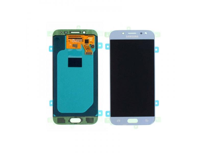 LCD + dotyková deska pro Samsung Galaxy J5 2017, blue silver ( Service Pack )