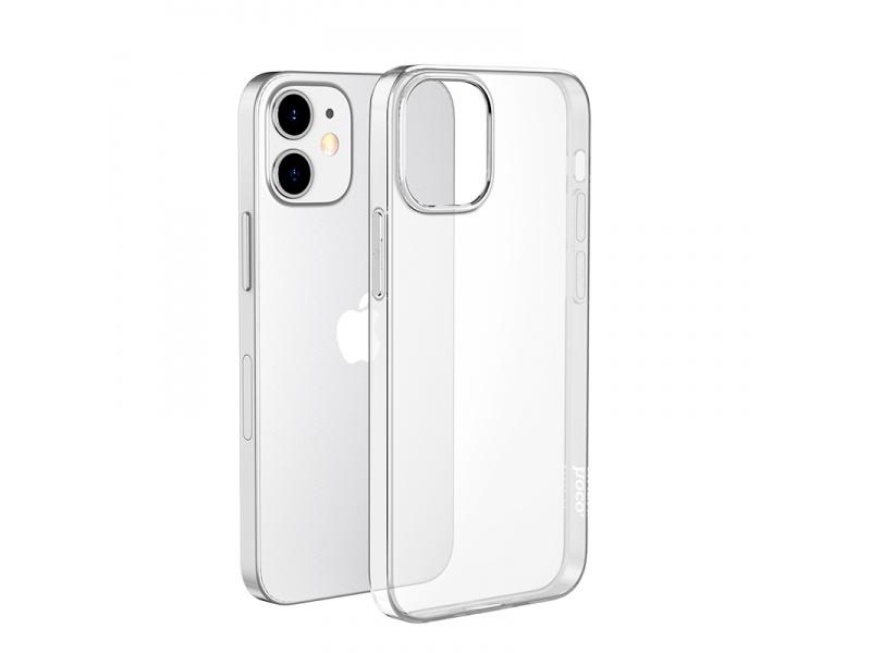 Silikonové pouzdro Hoco Light Series TPU Case pro Apple iPhone 12 Mini, transparentní