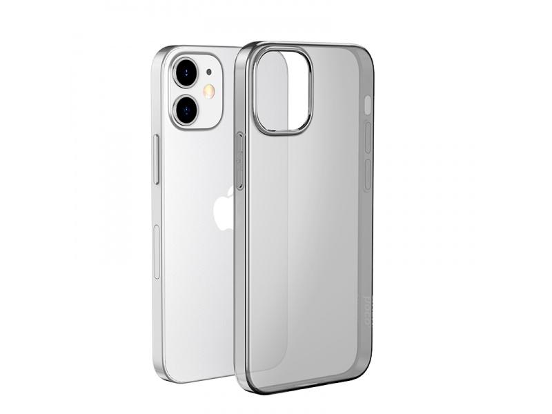 Silikonové pouzdro Hoco Light Series TPU Case pro Apple iPhone 12 Mini, černá