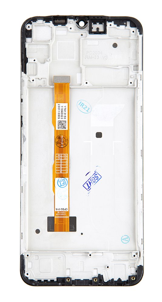 LCD + dotyk + přední kryt pro Vivo Y20s, purist blue