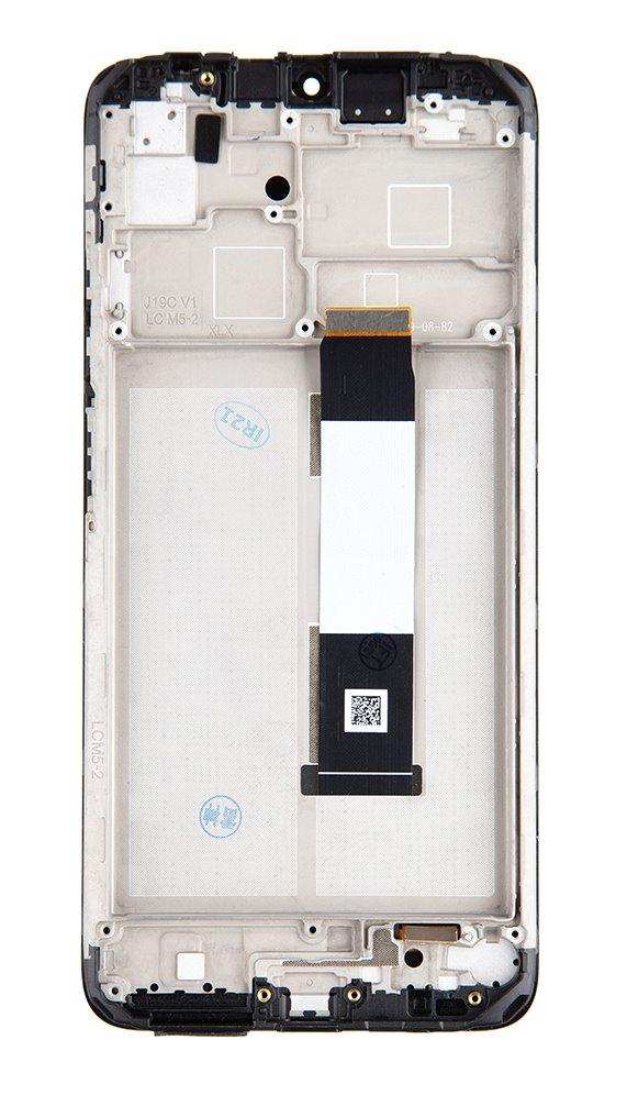 LCD + dotyk + přední kryt pro Xiaomi Redmi 9T, sunrise orange