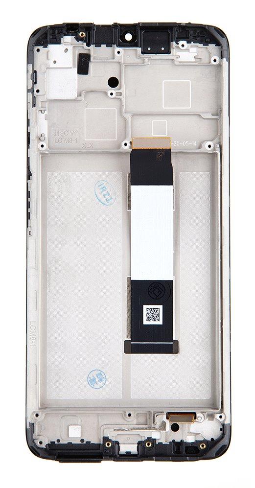 LCD + dotyk + přední kryt pro Xiaomi Redmi 9T, twilight blue